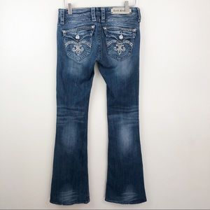 ROCK REVIVAL l Sasha Flare Jeans